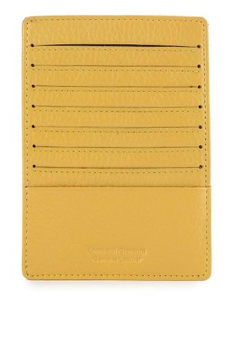 LOMBARDI GIOVANNI yellow Multiple Card Holder LO667AC0VROTID_1
