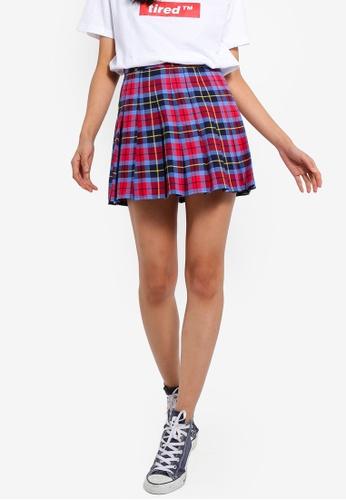 Factorie multi Pleated Skirt 20E59AA94D2DE3GS_1