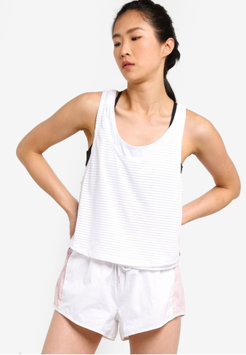 Cotton On Body white Sheer Scoop Neck Tank Top AC3DAAA223F929GS_1