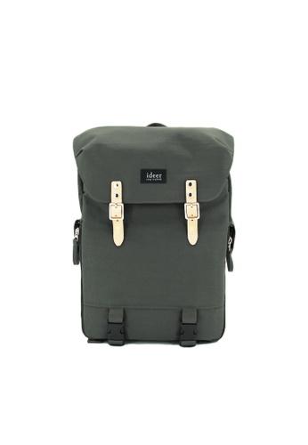ideer green Hunter 390 Green Laptop / DSLR Camera Travel Backpack A8E7DAC9938463GS_1