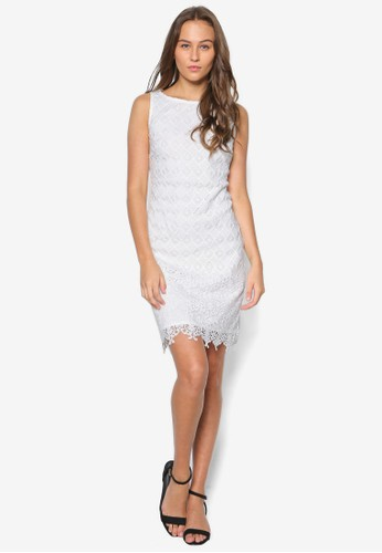 Petitesprit hk storee 蕾絲直筒洋裝, 服飾, 洋裝