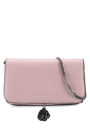 Calvin Klein pink Phone Crossbody Lock Bag - Calvin Klein Jeans Accessories 27AFEAC80F2AA5GS_1