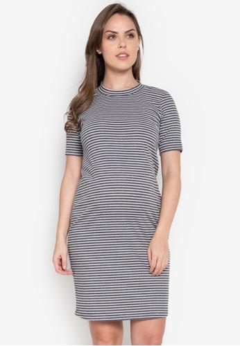 BUNTIS grey Erma Maternity Dress BU698AA0KKQXPH_1