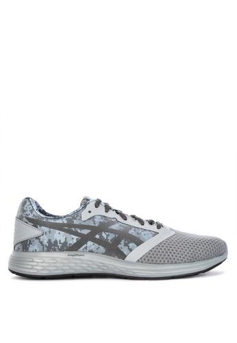 Asics grey Patriot 10 Sp Sneakers A0FC5SH026D67CGS_1