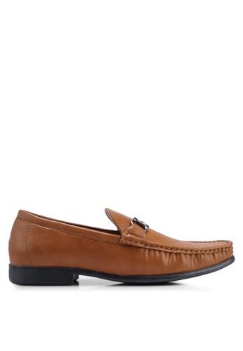 Carlton London brown Slip On Loafers A1275SHC05E533GS_1