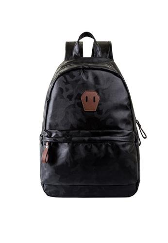 Lara black Men's Backpack 17A47AC75F97EBGS_1