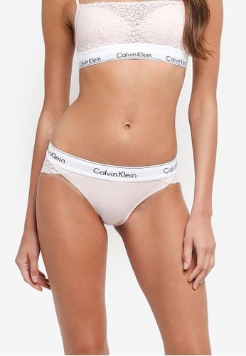 Calvin Klein beige Bikini Panties - Calvin Klein Underwear F0158US8DB04CDGS_1