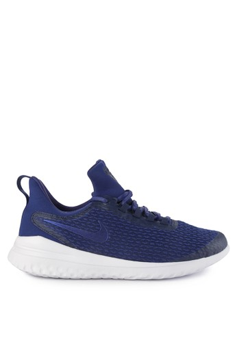 Nike navy Nike Renew Rival Shoes 7C9C8SHB66BEA3GS_1