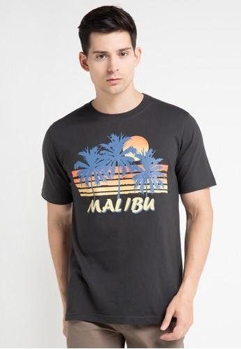 Malibu black T-Shirt MA962AA0WE5WID_1