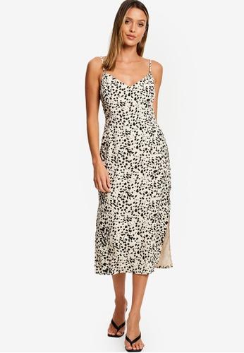 Calli white Milana Midi Dress 8227BAA6E2A9AAGS_1