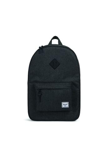 Herschel black Herschel Heritage Backpack (Black) - 21.5L D615FAC88A3666GS_1