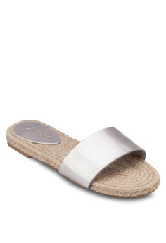 Slider Espdarille Flat Sandals