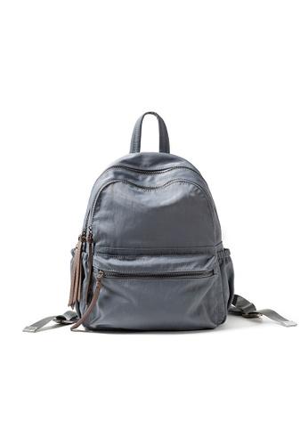 Lara 灰色 女士百搭牛津布休閒背包旅行袋 - 灰色 A77A8ACE22FCB3GS_1
