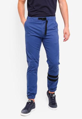 Cotton On 藍色 慢跑縮口褲 175F2AA9DEFB62GS_1