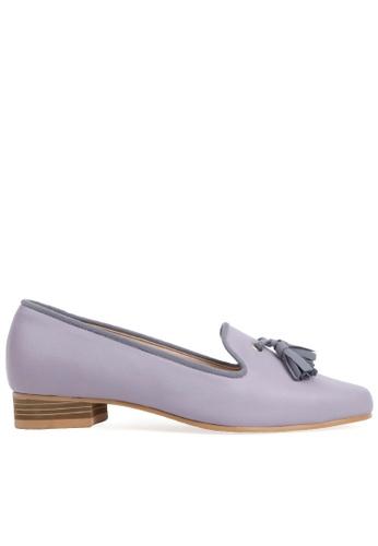 SPUR purple Loti tassel Flats 363E2SH273DF0CGS_1