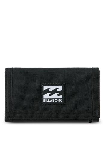 Billabong black and multi Atom Wallet BI783AC0RYZJMY_1
