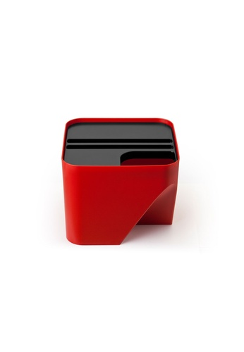 Qualy Qualy Block 20 Recycling Bin (Red) 5FBDEHL5C499E2GS_1