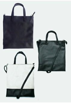 Set of 3 4-Way Leatherette Urban Sling / Laptop Bag