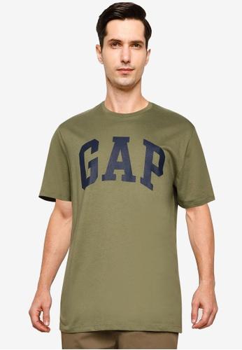 GAP green V-BASIC LOGO T 135DCAA34F80DCGS_1