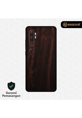 Exacoat Xiaomi Mi Note 10 3M Skins Wood Series - Wood Mahogany 67F26ESA7D0B33GS_1