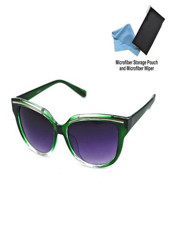 Manmico green Iwear Collection Fashion Eyewear BJ 5087 with free Microfiber Storage Pouch and Wiper MA606GL45ROCPH_1