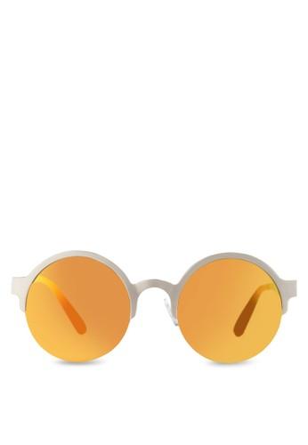 JP0112 圓框太陽眼鏡zalora 心得 ptt, 飾品配件, 飾品配件