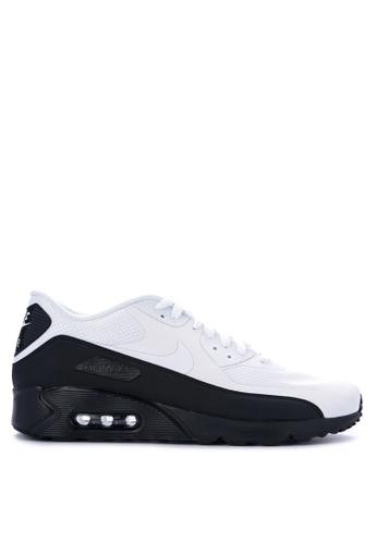 Nike white Men's Air Max 90 Ultra 2.0 Essential Shoes NI126SH0STSAMY_1