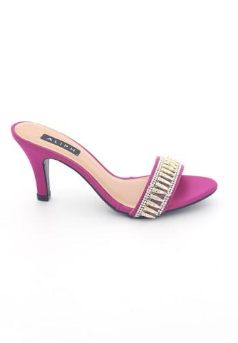 MINKA pink and purple ALIPH Stevy Fuchsia Heels MI006SH96XSTID_1
