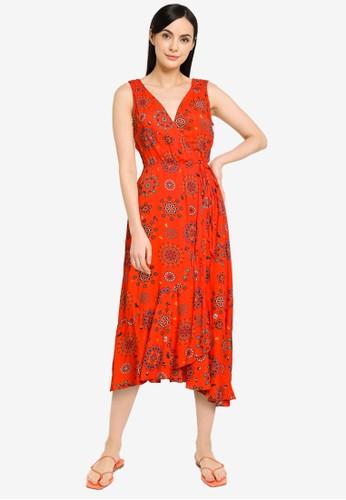 Desigual red Santorini Summer Dress 7A7EDAAA4C6D0FGS_1
