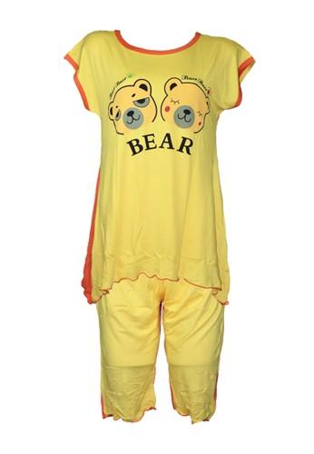 You've multi You've (YouHave) Sleepwear Set Baju Tidur Lingerie Wanita 805-10 5D4C5AABD7C472GS_1