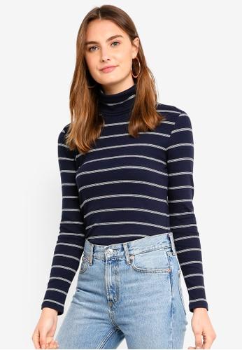 ESPRIT navy Long Sleeve Sweater BA8EBAA4CE5804GS_1
