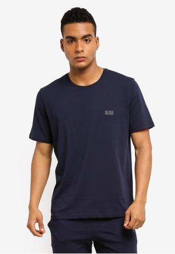 BOSS 海軍藍色 Mix & Match T-Shirt - Boss Body E02BDAA44F228BGS_1