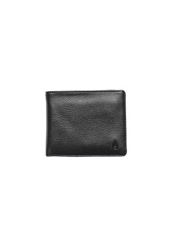 Nixon black Pass Leather Coin - Black (C2973000) 2983CACEF905F0GS_1