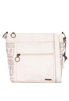 f4641149f16a Sakroots white Finn Crossbody Bag 0A75FAC8888569GS 1
