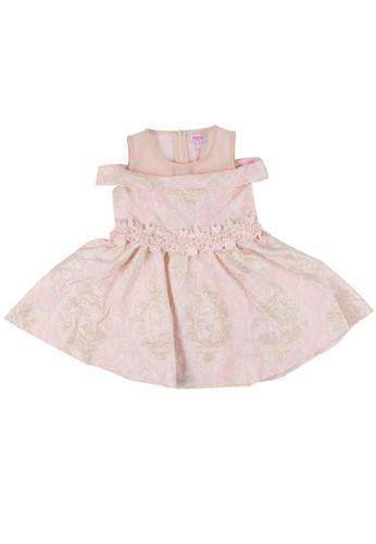 Moejoe pink MOEJOE Jacquard Dress - Pink 28AF8KAEDEB148GS_1