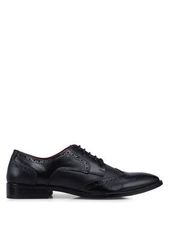 Acuto black Leather Business Shoes 5075DSH996B332GS_1