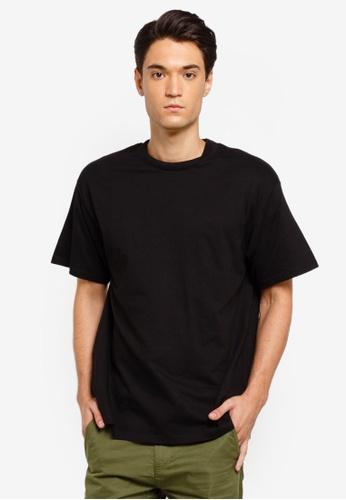 Factorie 黑色 短袖T恤 755C6AA8A15721GS_1