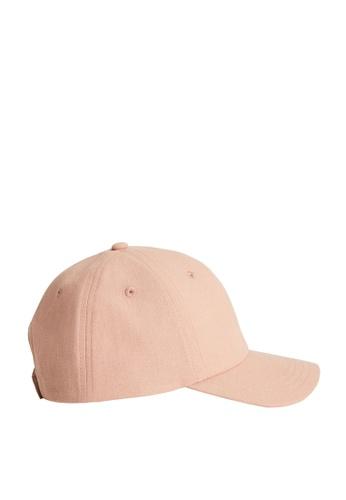 MANGO KIDS pink Embroidered Detail Cap 7B5C2KC46E9EBFGS_1