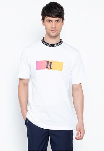 Cheap Tommy Hilfiger Online   Lewis Hamilton Flag Logo Tee