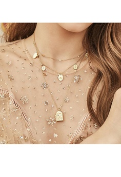 c1d138b21c Wanderlust + Co Astra Locket Necklace S  95.00. Sizes One Size