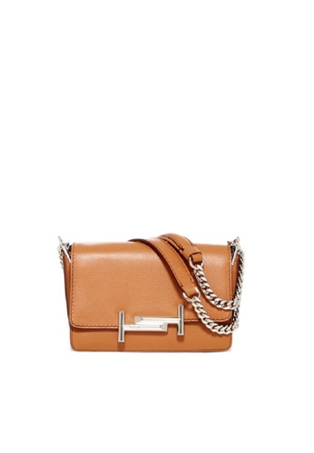 Tod's brown TOD'S DOUBLE T CROSSBODY 886E8AC321518DGS_1