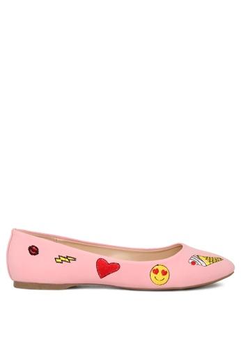 London Rag pink Pink Ballerina Shoes F20E9SHCAD5721GS_1