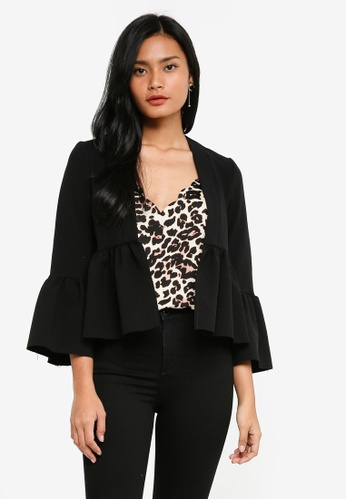 TOPSHOP black Cropped Jacket 2828AAA9211281GS_1