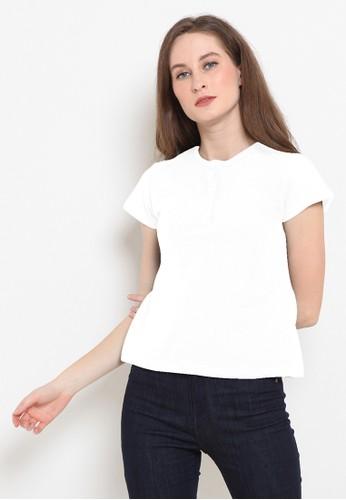 BASIC ONE white Basic One Polo Shirt Emma White 608ADAAE2DB70FGS_1