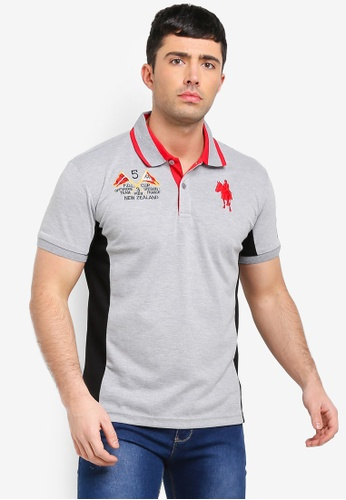 Fidelio 灰色 短袖POLO衫 7DD3DAA26B8886GS_1