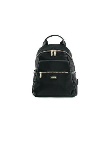 Pierre Cardin black Pierre Cardin Premium Medium Backpack 5FAC6ACC15578AGS_1