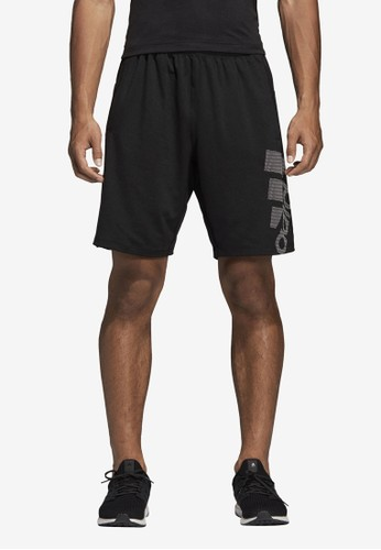 ADIDAS black 4krft sport graphic shorts C6A5CAAF801A31GS_1