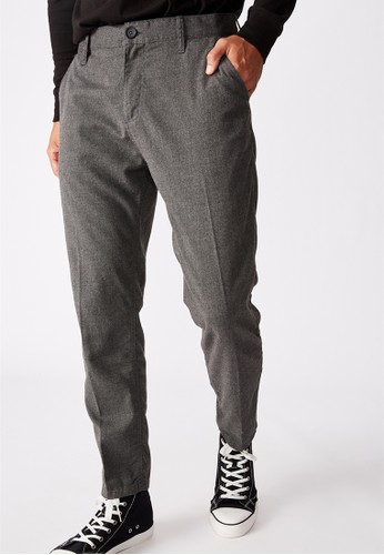 Cotton On grey Oxford Trouser 92138AA004F7ADGS_1