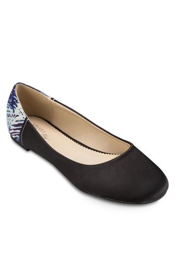 PLAY! Gina 後跟花卉印花平底鞋, 女esprit hk outlet鞋, 鞋