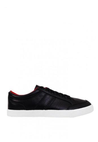 World Balance black Osmond MS Sneakers 66882SHAC2B359GS_1
